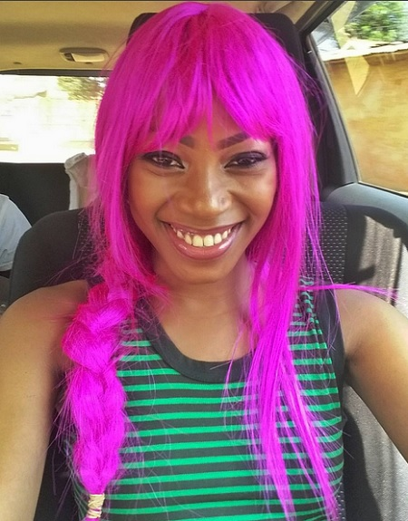 Sheebah reminds you of her Ice cream song with this hair extension