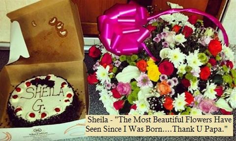 Sheila Gashumba turns 18