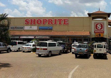 Shoprite Lugogo brach meat section suspended
