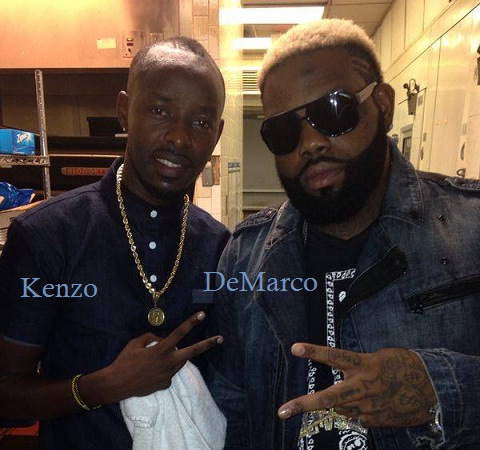 Eddie Kenzo and Demarco in Dallas