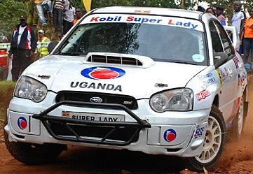 Susan Muwonge in action