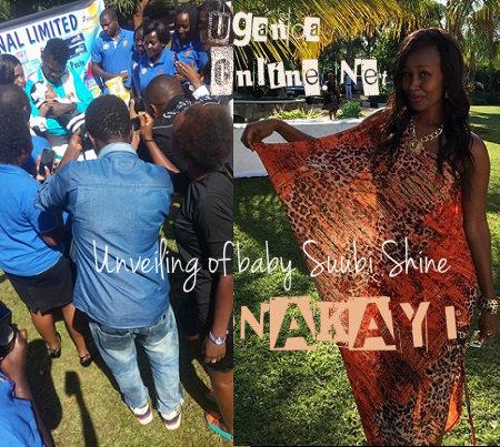 Bobi Wine unveiling the 7 Days Ambassador