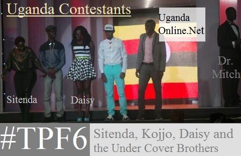 Tusker Project Fame 6 Uganda Contestants