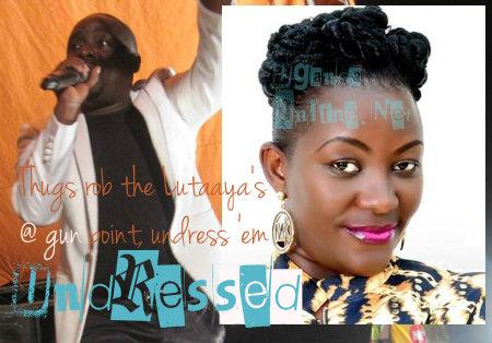 Thugs attack Geoffrey and Irene Lutaaya