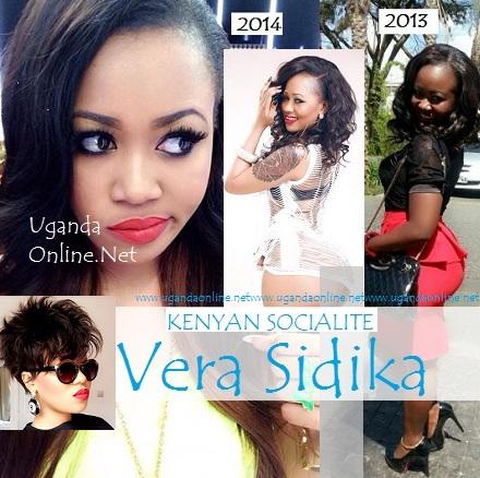 Kenyan socialite Vera Sidika all bleached