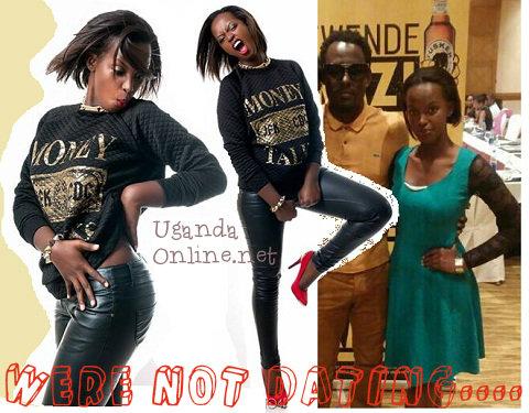 We're not dating Maurice Kirya and Flavia Tumusiime declare