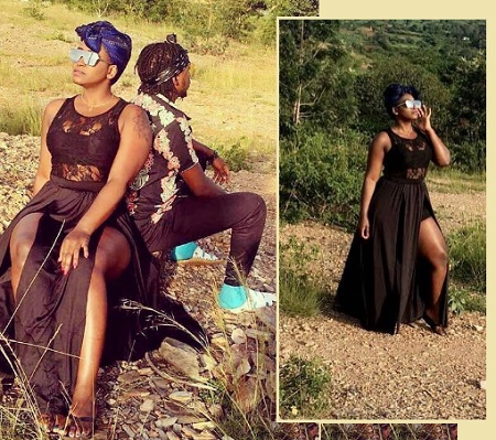 Winnie Nwagi during the video shooting of her latest track