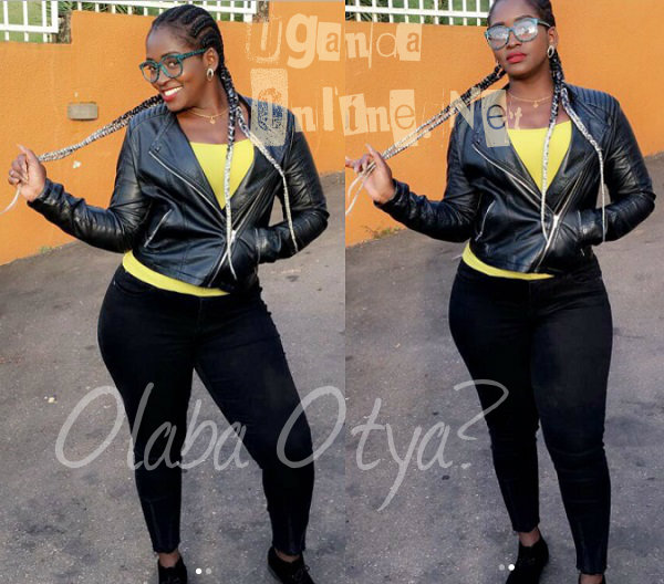 Winnie Nwagi shooting her Olaba Otya video