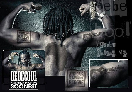 Bebe Cool's new album dropping soon