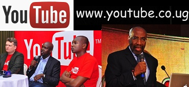 The launch of the YouTube domain by Google in Uganda