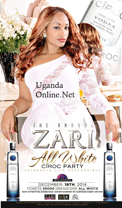 Zari All White Ciroc Party