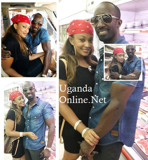 The loved up couple at Uchumi