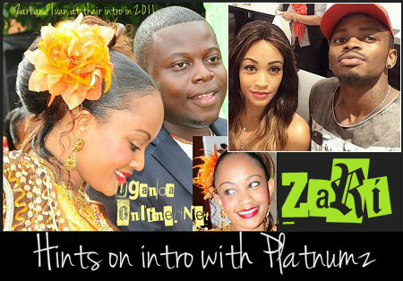 Zari hints on introduction ceremony with Diamond Platnumz