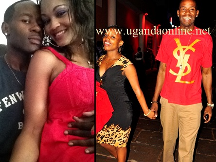Isaac Lugudde and Zari during the good times and with his latest catch Cynthia.