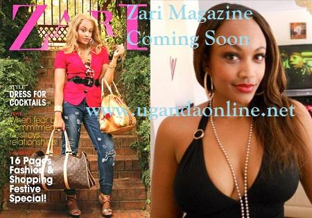 A preview of ZARI Magazine