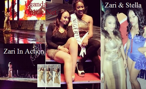 Zari performing at the Miss Asia Pageant in Seoul Korea