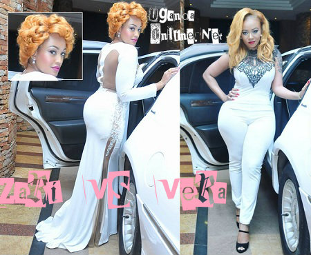 Zari and Vera Sidika heading for the All White Party