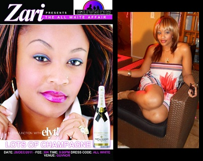 Zari in conjuction with Elyt magazine is back with the All White Affair