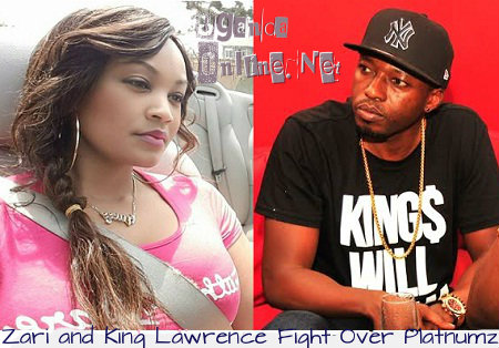 Zarie andKing Lawrence fight over Diamond Platnumz