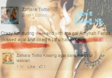 Zahara and close friend embrace emotionally