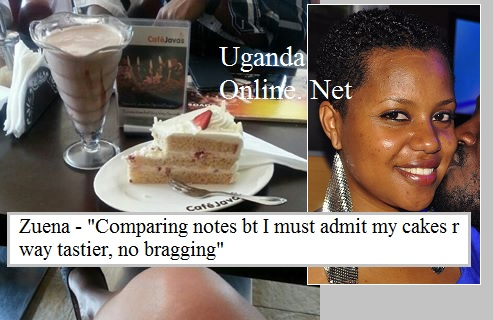 Zuena says her cakes are far better than those at Javas