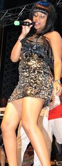 Zuena Kirema  during the Minzani launch