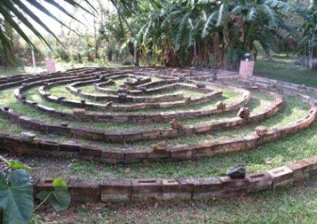 Labyrinth Walking Fire Letter Attunement