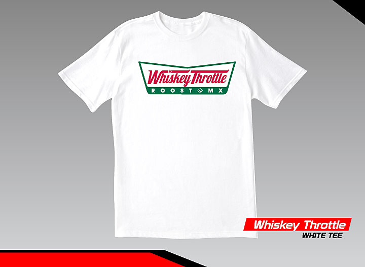 Gray, Small Risk Racing Whisky Throttle T-Shirt