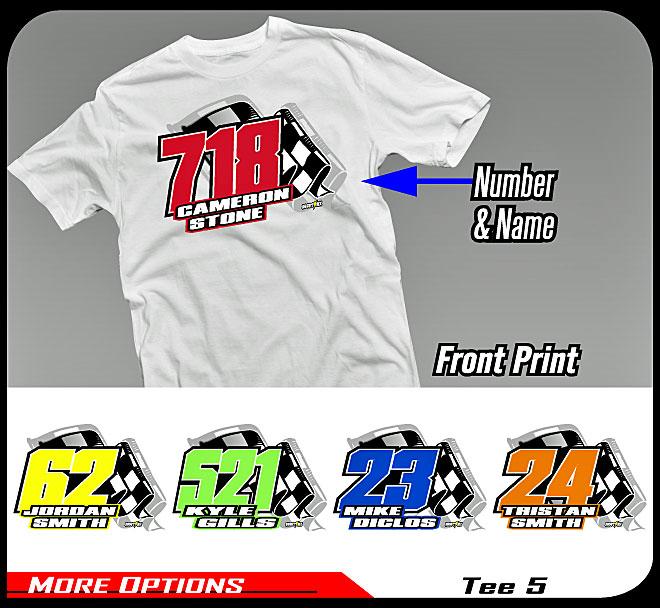 Motocross shirts custom kamos t shirt for Custom race shirts no minimum
