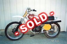 1975 CR400 Husqvarna - SOLD - NOT For Sale