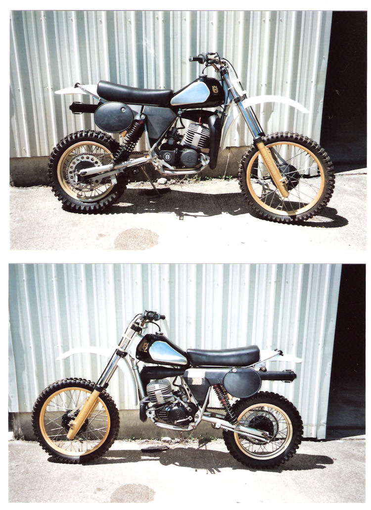 1982 XC250 Husqvarna - SOLD - NOT For Sale