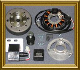 Powerdynamo Electronic Ignitions - Husqvarna (1971-87) on