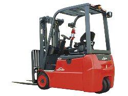 linde 346 3-wheel forklift