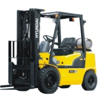 IC forklift picture