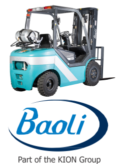 Baoli forklift and logo