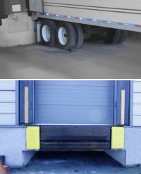 Dock Bumpers and Wheel Chocks Picture