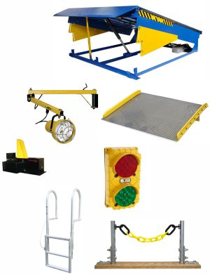 in-plant office warehouse dock equipment picture