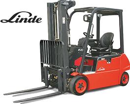 Linde 346 Electric Forklift