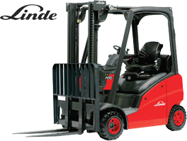Linde 391 Cushion Tire forklift