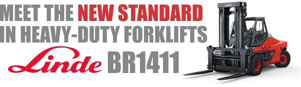 Linde BR1411 Model Forklift Banner