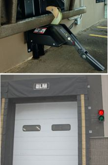 Trailer Restraints and Stop Go Lights Picture