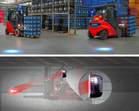 Forklift Blue Safety Lights