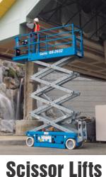 Genie Scissor Lift Aerial Platform