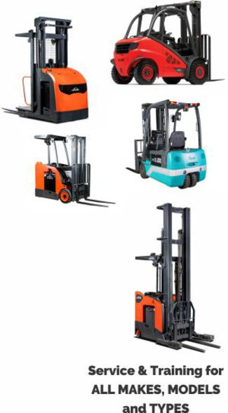 Service All Makes and Models Forklifts