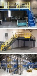 mezzanines for warehouse space in baltimore