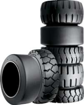 Forklift Tires Picture