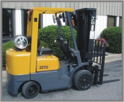 Used TCM Forklift Picture