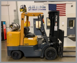 Used Prime Mover Forklift Picture