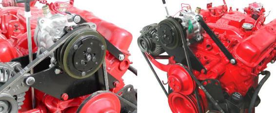BPE A/C Compressor Mounting Bracket Kit Small Block (4725)