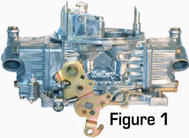 Demon 4 Barrel Carburetor Throttle Stop